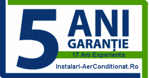 5 Ani Garantie la montajul realizat de noi